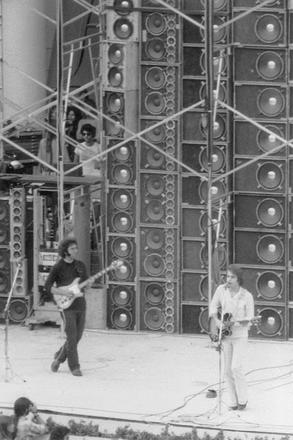 Jerry, Ned, and Bob at the Hollywood Bowl on July 21, 1974.