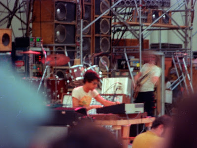 Ned and Phil at the Hollywood Bowl on July 21, 1974  (photo by David Gans)