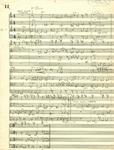 String quartet score image 3 - photo by Ned Lagin