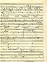 String quartet score image 6 - photo by Ned Lagin